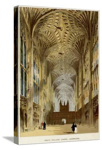 The Chapel : Interior--Stretched Canvas Print