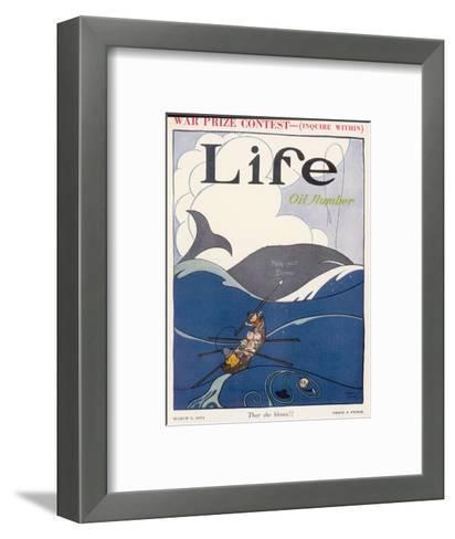 Teapot Dome Scandal, 1924--Framed Art Print