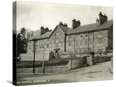 St Oswald's Hospital, Ashbourne, Derbyshire-Peter Higginbotham-Stretched Canvas Print