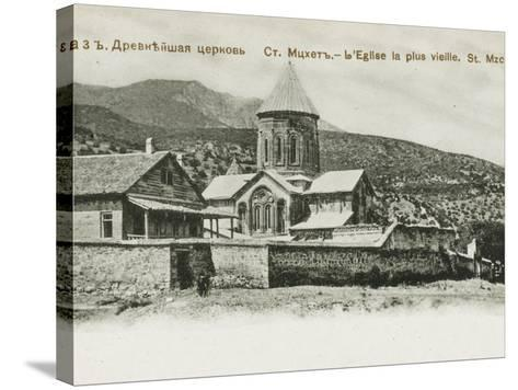 The Oldest Church in St. Mzchette, the Ancient Capital of Grouzie, Armenia--Stretched Canvas Print