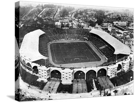 The F.A. Cup Final at Wembley Stadium, 1927--Stretched Canvas Print