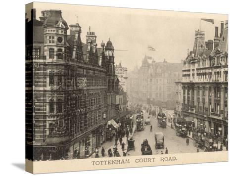 Tottenham Court Road--Stretched Canvas Print