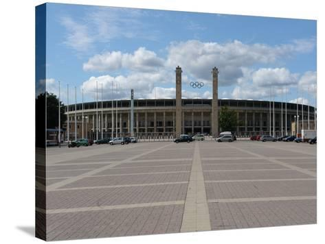 The Olympic Stadium, Berlin, Germany--Stretched Canvas Print