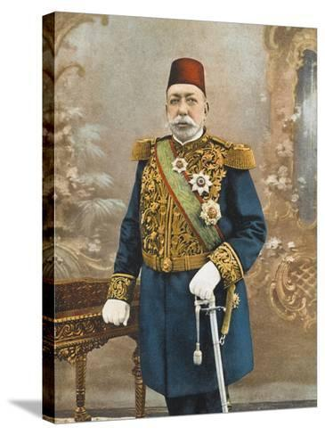 Sultan Mehmed V Reshad of Turkey--Stretched Canvas Print