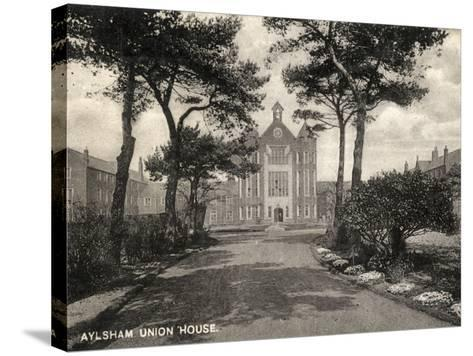 Union Workhouse, Aylsham, Norfolk-Peter Higginbotham-Stretched Canvas Print