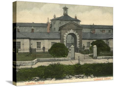 Union Workhouse, Liskeard, Cornwall-Peter Higginbotham-Stretched Canvas Print