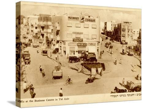 Tel Aviv: the Business Centre--Stretched Canvas Print