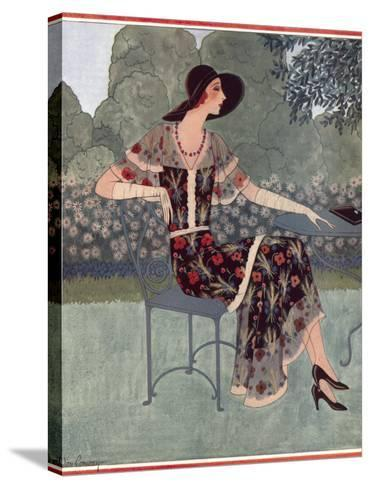 Tatler Fashions for July 1930--Stretched Canvas Print