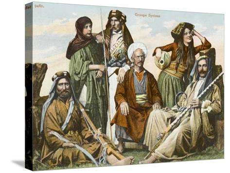 Syrians in Constantinople--Stretched Canvas Print