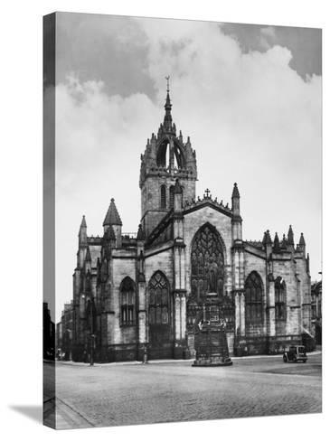 St. Giles Cathedral--Stretched Canvas Print