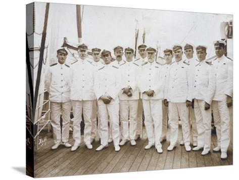Crew of RMS Olympic--Stretched Canvas Print