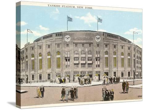 Yankee Stadium - New York--Stretched Canvas Print