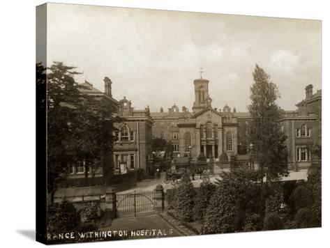 Withington Hospital, Manchester-Peter Higginbotham-Stretched Canvas Print