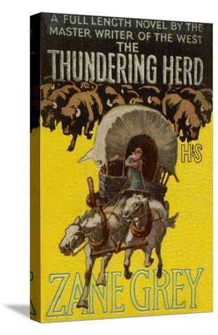 The Thundering Herd--Stretched Canvas Print