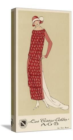 Tissus Dress by Agb--Stretched Canvas Print