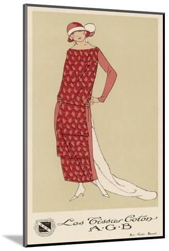 Tissus Dress by Agb--Mounted Giclee Print