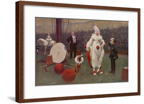 The Telegram by John Hassall--Framed Art Print