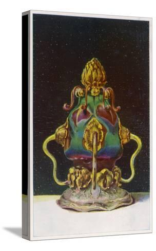 Tiffany Glassware--Stretched Canvas Print