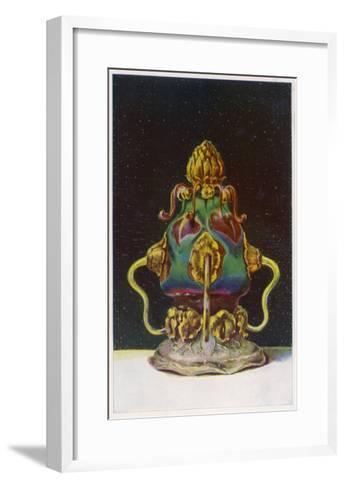 Tiffany Glassware--Framed Art Print