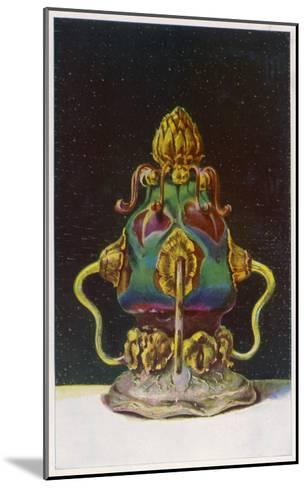 Tiffany Glassware--Mounted Giclee Print