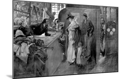 The Pawnshop as a Last Resource--Mounted Giclee Print