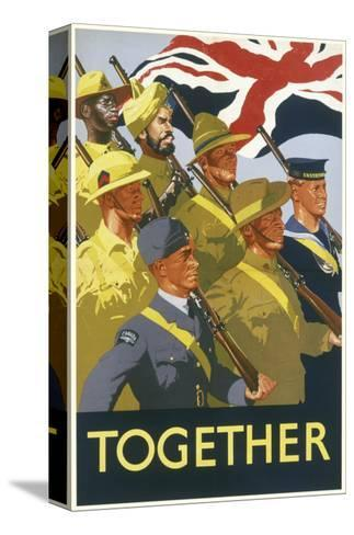 Together Poster--Stretched Canvas Print