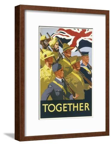 Together Poster--Framed Art Print