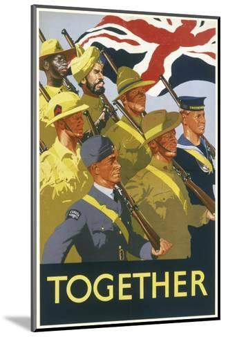Together Poster--Mounted Giclee Print