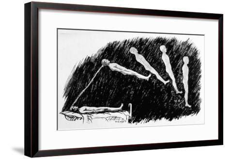 The Out-Of-Body Experience--Framed Art Print
