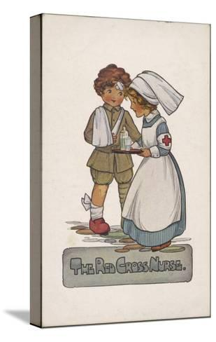 The Red Cross Nurse--Stretched Canvas Print