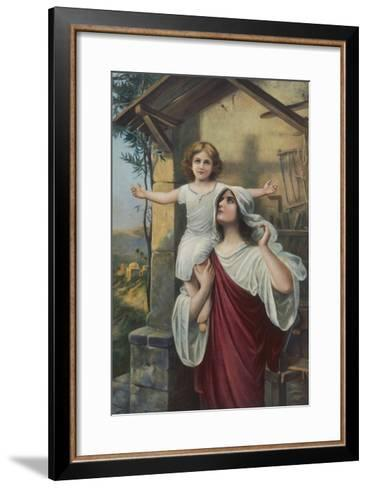 The Shadow of the Cross--Framed Art Print
