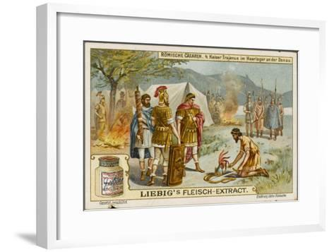 Trajan Goes to War--Framed Art Print