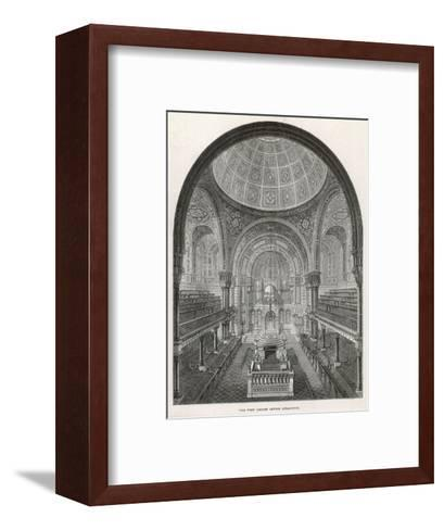 The West London Jewish Synagogue, 1872--Framed Art Print