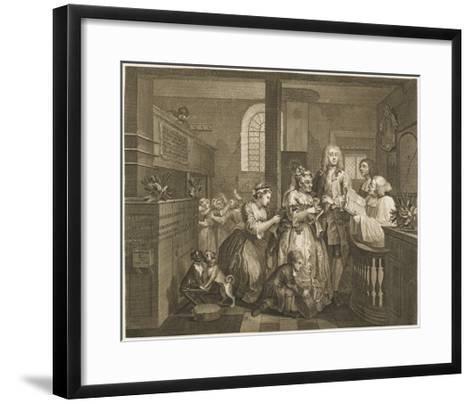 The Rake's Progress, Marriage Ceremony--Framed Art Print