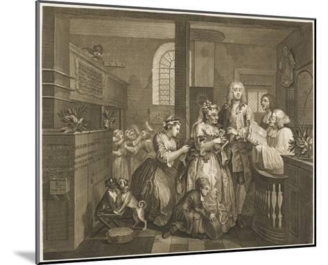 The Rake's Progress, Marriage Ceremony--Mounted Giclee Print