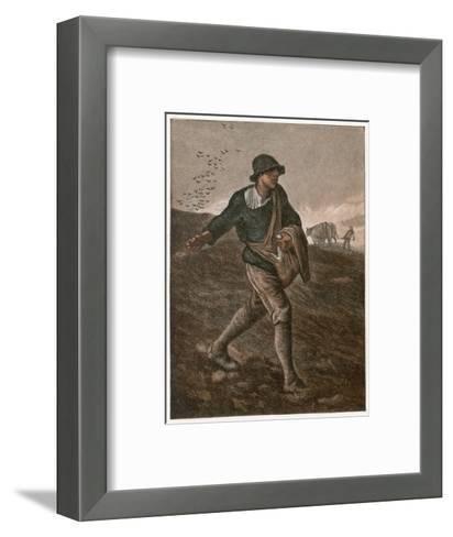 The Sower--Framed Art Print