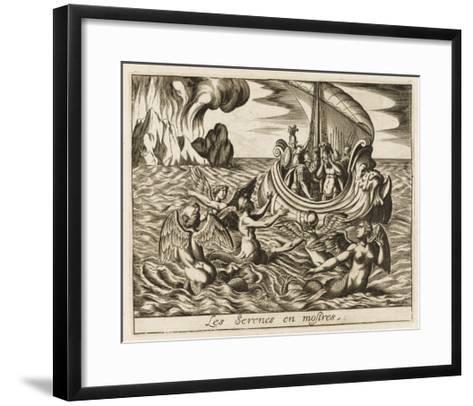 The Sirens--Framed Art Print