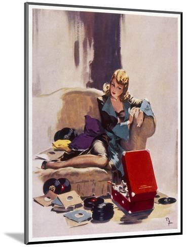 The Tune That He Loved Best-David Wright-Mounted Giclee Print
