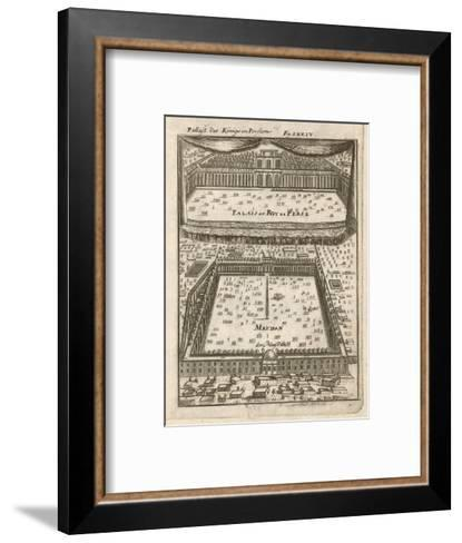 The Palace of the Kings of Persia--Framed Art Print