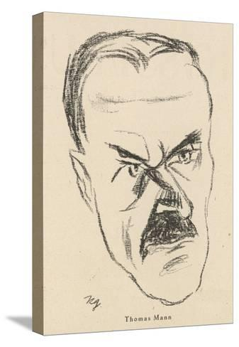Thomas Mann German Writer--Stretched Canvas Print