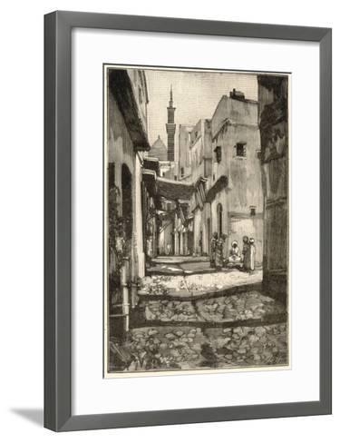 The Original Assassins are Lectured to on Religious Dogma by Fanatics on Street Corners--Framed Art Print