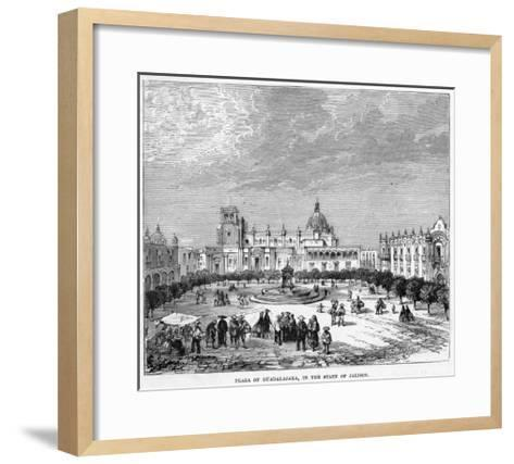 The Plaza--Framed Art Print