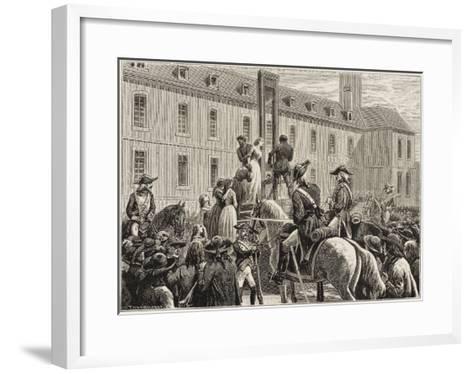 Vendee : Reprisal--Framed Art Print