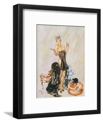 Utility Suit-David Wright-Framed Art Print