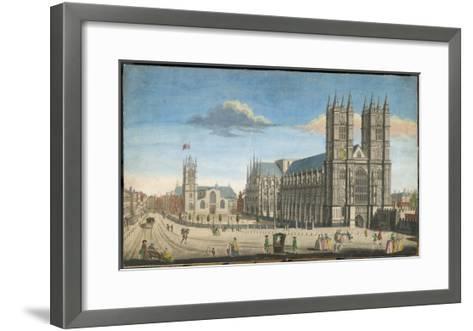 Westminster Abbey--Framed Art Print