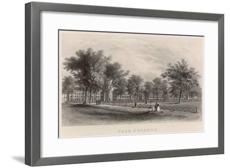 Yale College: External View--Framed Art Print