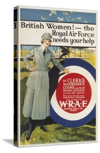 Wraf Recruitment Poster--Stretched Canvas Print