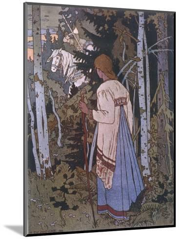 Vasilissa on Her Way to Visit the Baba Yoga--Mounted Giclee Print