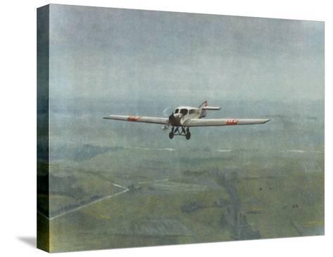Versatile All-Metal Monoplane--Stretched Canvas Print
