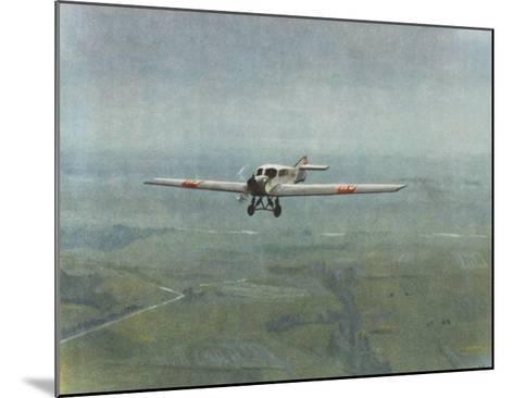 Versatile All-Metal Monoplane--Mounted Giclee Print